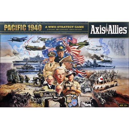 Wizards of the Coast Axis & Allies Pacific 1940 Game Axis Allies Base Set