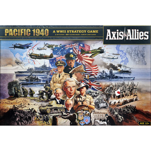 Wizards of the Coast Axis & Allies Pacific 1940 Game