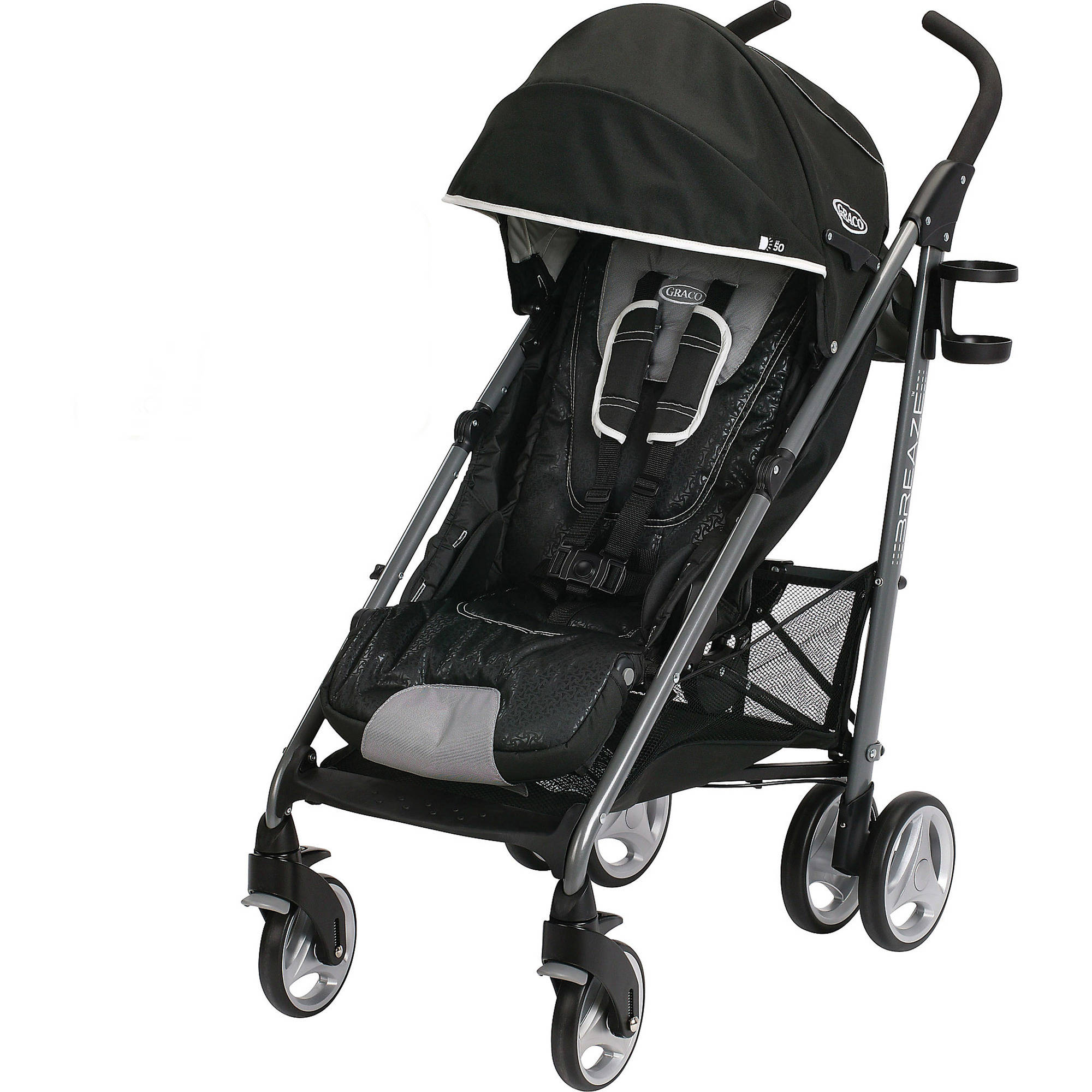 Graco Breaze Click Connect Umbrella Stroller, Harris