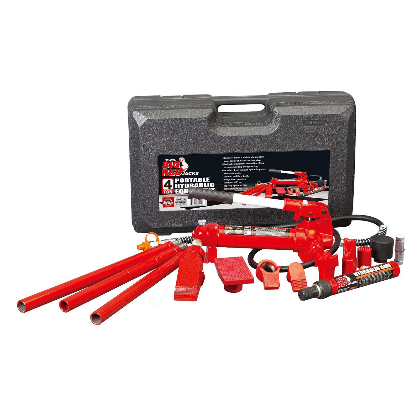 Torin Big Red T70401 4 Ton Porta-Power Kit