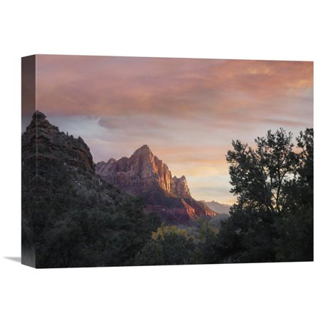 Global Gallery The Watchman Zion National Park Utah Wall Art