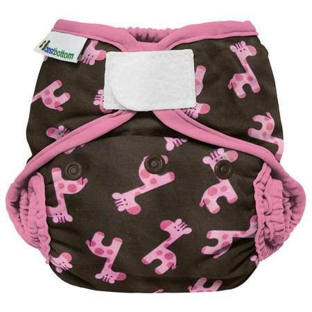 Best Bottom Diaper Shell, Hook & Loop, Pink