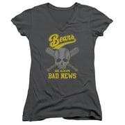 Bad News Bears Always Bad News Juniors V-Neck Shirt