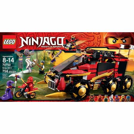 Lego Ninjago Black (LEGO Ninjago Ninja DB X)