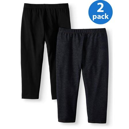 Juniors' No Boundaries Capri Leggings 2-Pack Value Bundle](Geek Leggings)