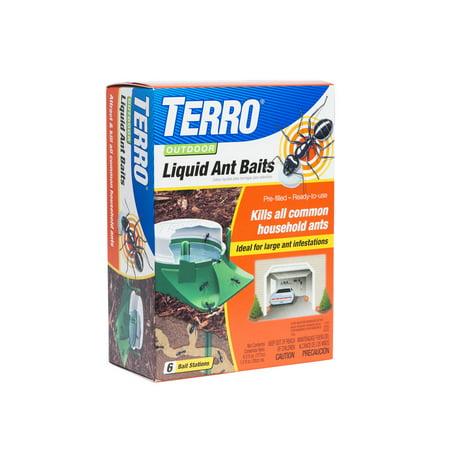 Terro Liquid - 6-Pack Outdoor Liquid Ant Baits