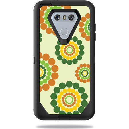 Skin For OtterBox Defender LG G6 Case – Hippie Flowers | MightySkins Protective, Durable, and Unique Vinyl Decal wrap cover | Easy To Apply, Remove, and Change Styles | Made in the USA](Easy Hippie Outfit)