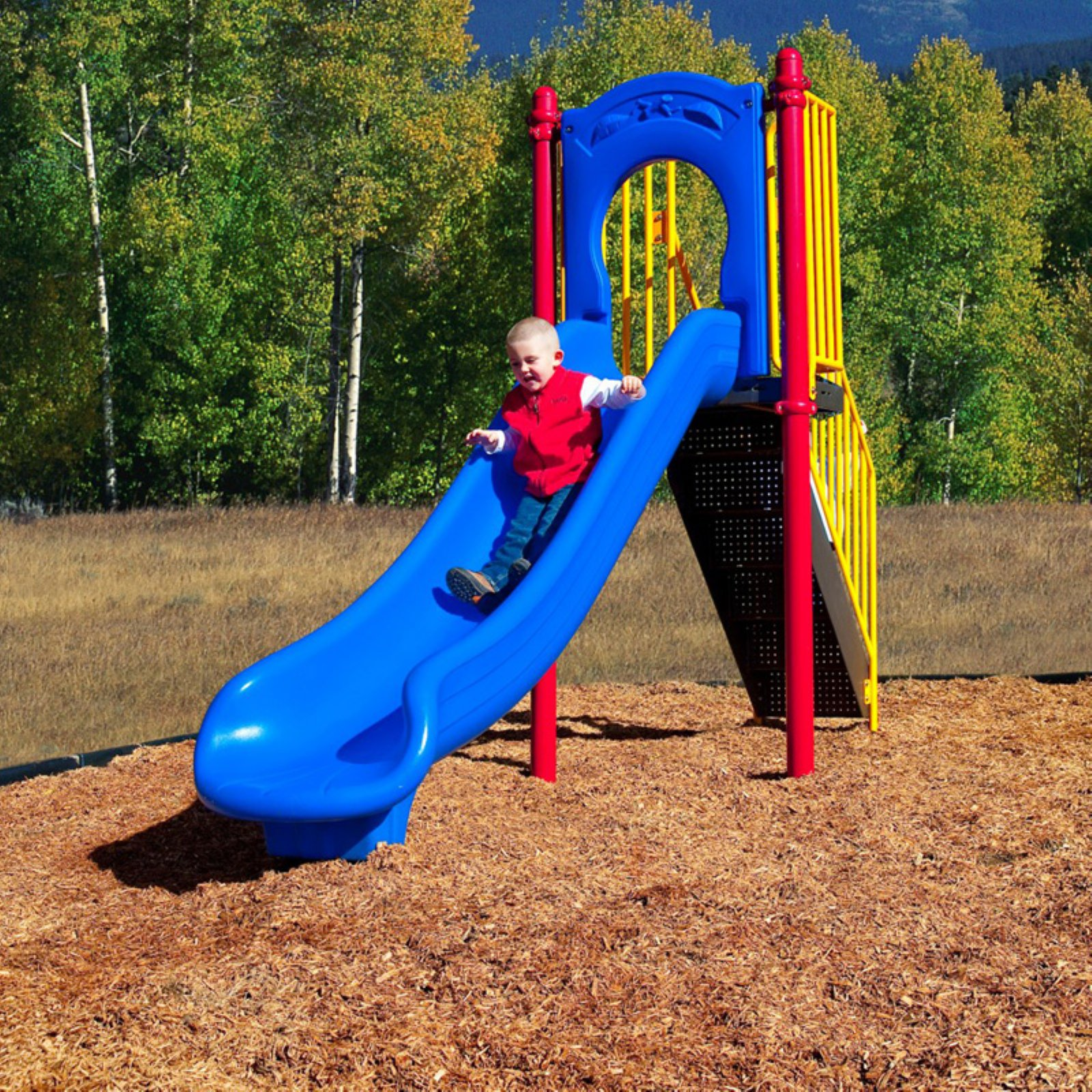 Ultra Play 4 ft. Freestanding Slide