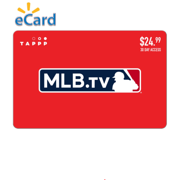 MLB.TV $24.99 Gift Card (email delivery)