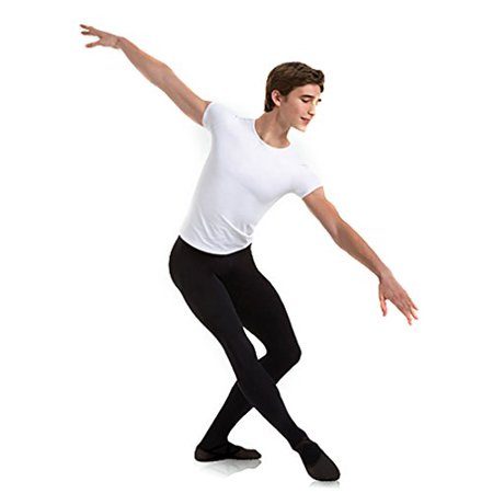 Body Wrappers Cut And Sewn Footed Dance Tights, Black, Medium Body Wrappers Dance Clothes