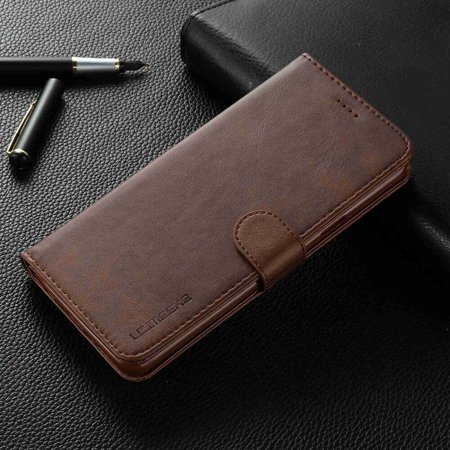 b112a41e76c7 Dteck Samsung Galaxy S10 5G Case Luxury [PU Leather] Wallet Case, Handmade  Protective Flip Folio Case with [Kickstand Function] and [Card Slots] for  ...