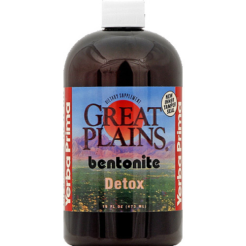 Great Plains Bentonite Detox Dietary Supplement, 16 fl oz