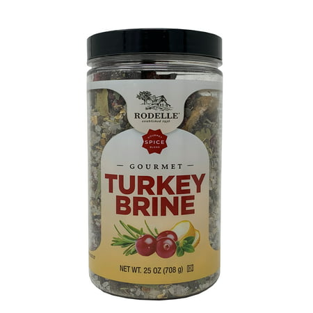 Rodelle Gourmet Spice Blend Turkey Brine 25 OZ Spice Islands Gourmet Spices