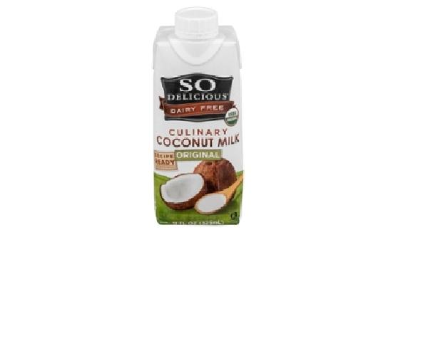 12 Pack : So Delicious Dairy Free Culinary Coconut Milk Original by