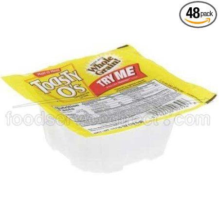 48 PACKS : Malt O Meal Toasty Os Bread Cereal, 1.38 Ounce...
