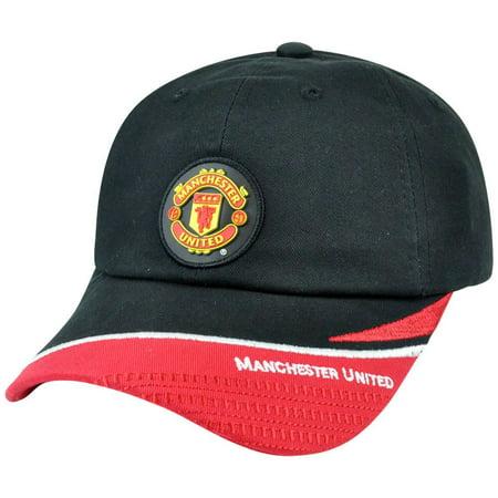 - Rhinox Manchester United English Premier League Soccer Hat Cap Clip Buckle Black
