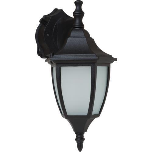 Outdoor Lantern, 13 Watt, Black, Frosted Glass, Energy Star No. 321082