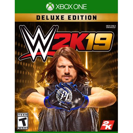 WWE 2K19 Deluxe Edition, 2K, Xbox One, 710425590733