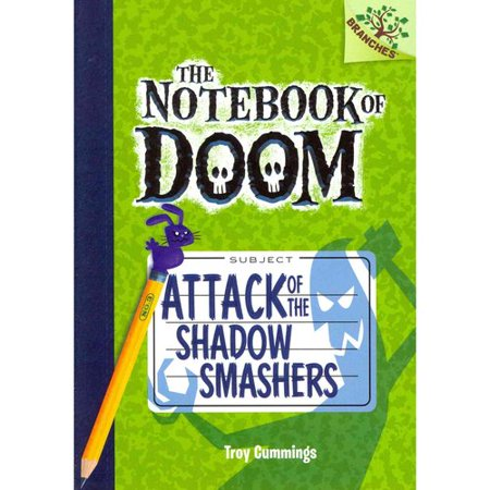 The Notebook of Doom #3: Attack of the Shadow Smashers (a Branches Book) - Library Edition