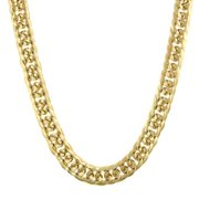 Womens Alloy Gold-Tone Link Collar Vintage Fashion Necklace 18 NEW