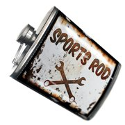 NEONBLOND Flask Rusty old look car Sports Rod