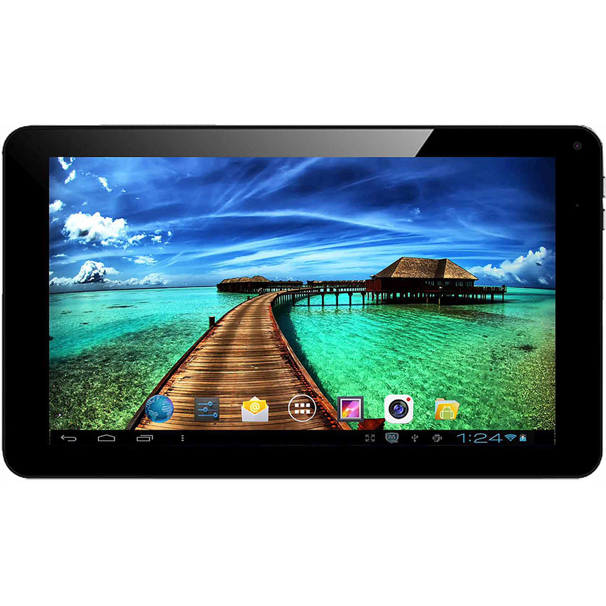 "SuperSonic SC-4009 with WiFi 9"" Touchscreen Tablet PC Featuring Android 4.4 (KitKat) Operating System"