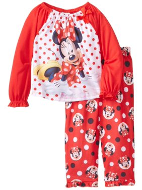 Product Image Disney Little Girls  Minnie Mouse Toddler Pajama 94cf3e48c