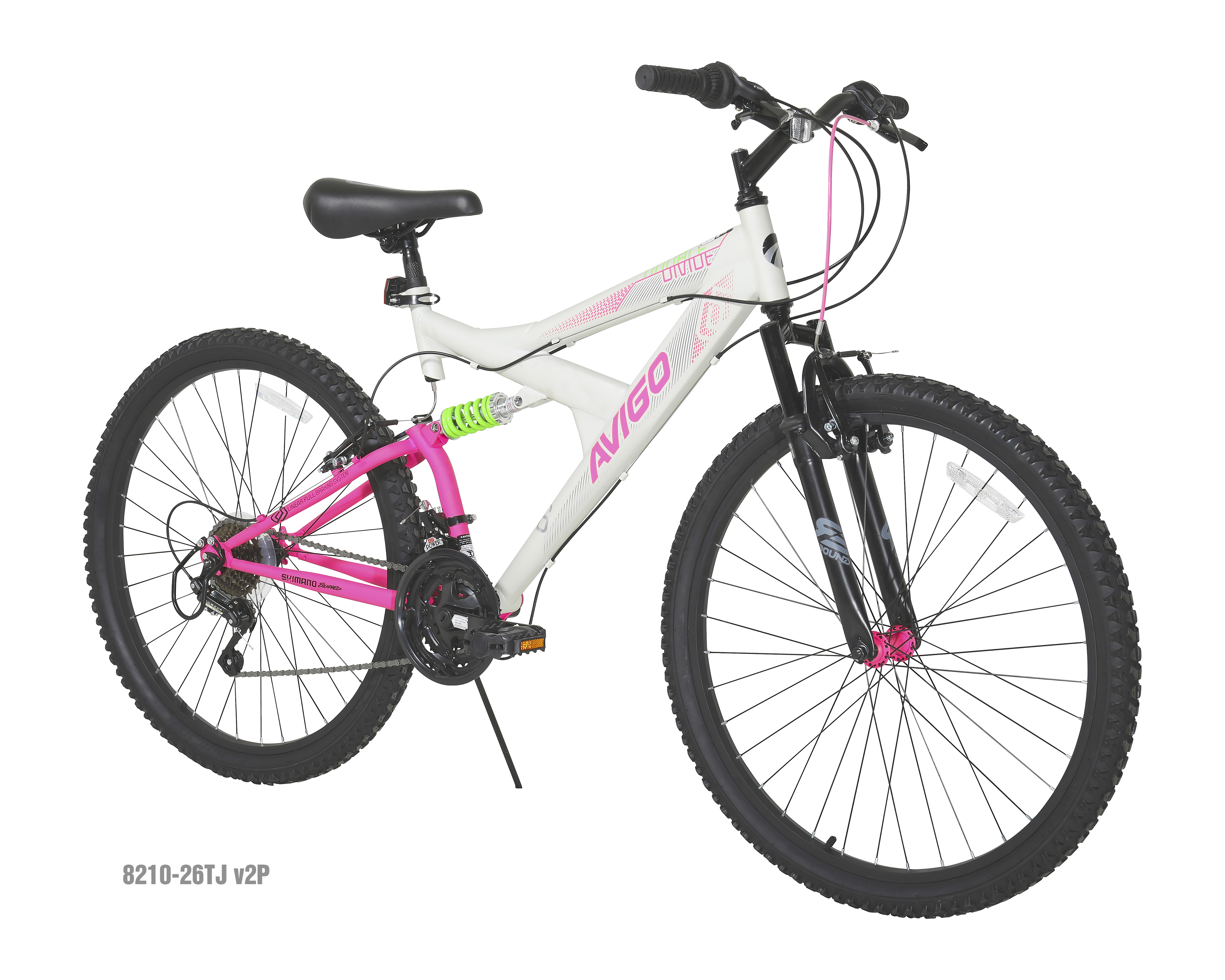 Dual Suspension Mountain Bikes Walmart >> Avigo Double Divide 26 Women S Dual Suspension Mountain
