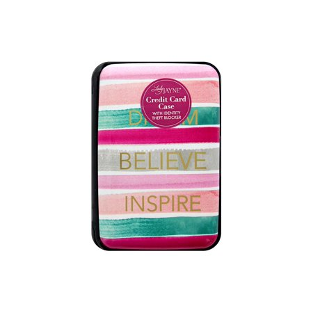 Lady Jayne Credit Card Case Dream Believe Inspire