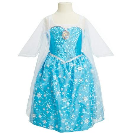 Disney Frozen Elsa Musical Light-Up Dress