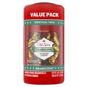 Old Spice Antiperspirant and Deodorant for Men, Bearglove, 2.6 oz, 2 Pack