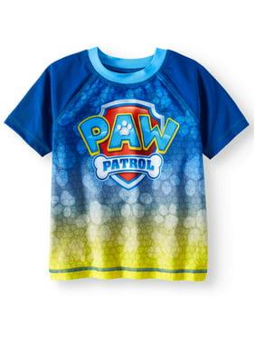 Paw Patrol Toddler Boy Rashguard Swim Shirt
