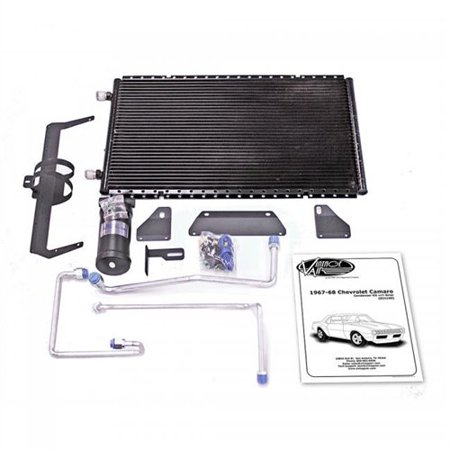 Vintage Air 021190 Horizontal SuperFlow Condenser Kit 1967-1968 Camaro 22 x 14 (Horizontal Flue Kit)