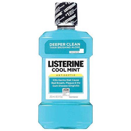Listerine Antiseptic Mouthwash  Cool Mint   250 Ml