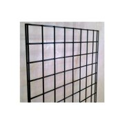 2 ft Wide X 6 ft High Gridwall Black Display Panel , Original Gridwall - made from strong metal with Black finsh designed for commercial use. By Modern Store Fixtures