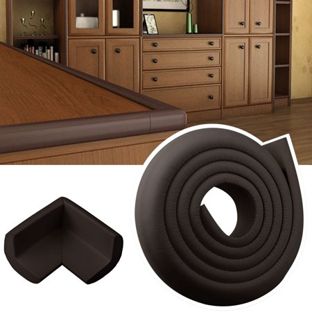 EEEKit Table Desk Edge Corner Cushion Guard, Baby Child Infant Kids Safety Guard Strip Softener Furniture Bumper Protector ()