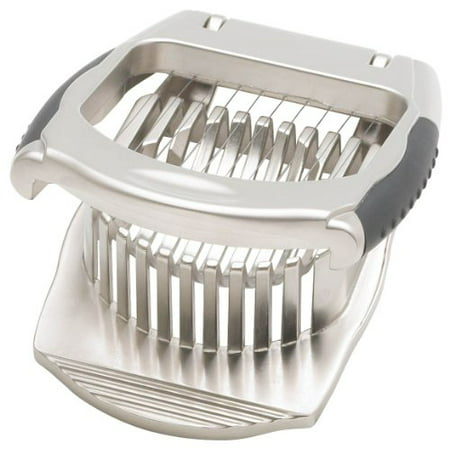 Heavy Duty Egg Slicer and Dicer Perfect for Hard Boiled Eggs - Stainless