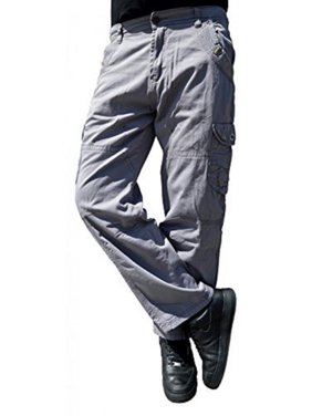 Men's 100% Cotton Military Combat Multi Pockets Cargo Army Pant WorkWear Trouser