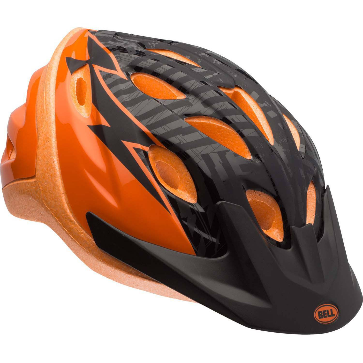 Bell Sports Dragster Mantle Child Helmet, Orange Black