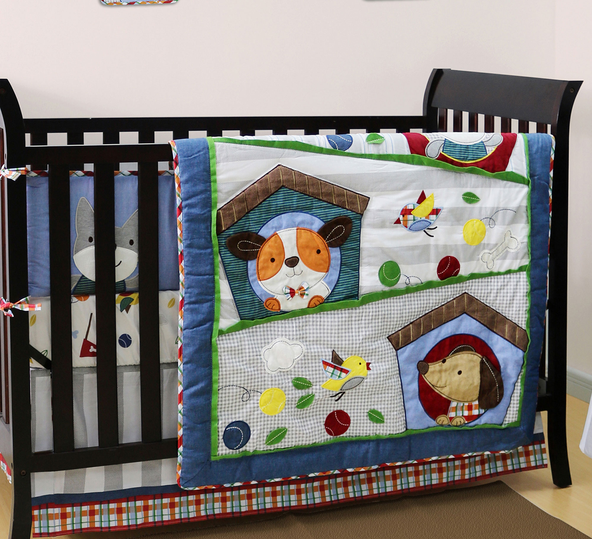 in bffc bed love bag kids bedding puppy mainstays a ip set com walmart crib cribs
