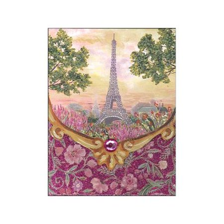 Punch Studio Note Pad Pocket Paris Promenade