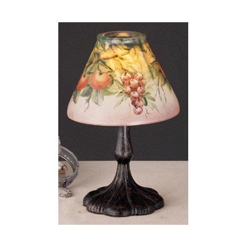 Meyda Tiffany Fruit Tree Metal and Glass Lantern