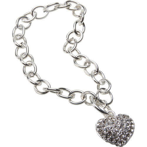290-CHTB Bret Roberts Crystal Heart Bracelet