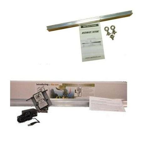 LIGHT RAIL 4.0 Adjusta Drive Grow Light Mover Kit + Robo Stik Reflector Hanger