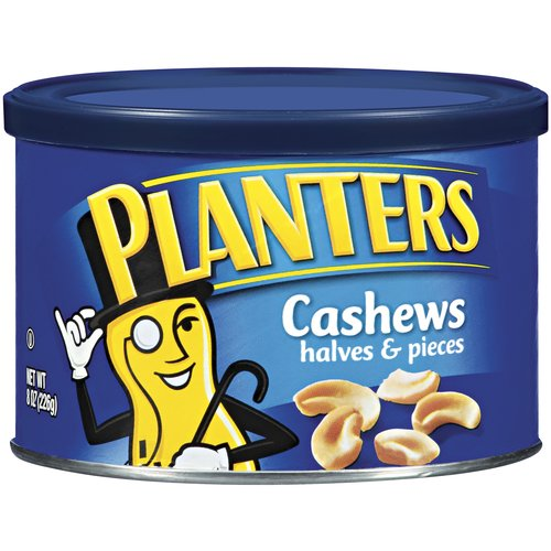 Planters Cashew Halves & Pieces, 8 oz