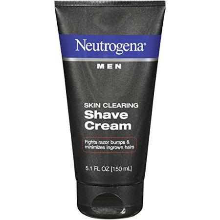 3 Pack - Neutrogena Men Skin Clearing Shave Cream 5.10oz Each