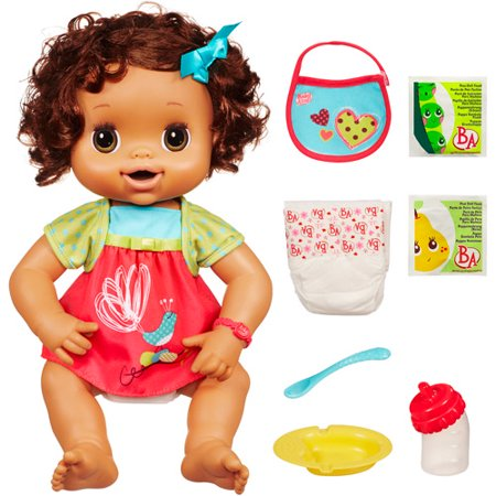 Baby Alive Clothes At Walmart Interesting Baby Alive My Baby Alive Doll Brunette Walmart