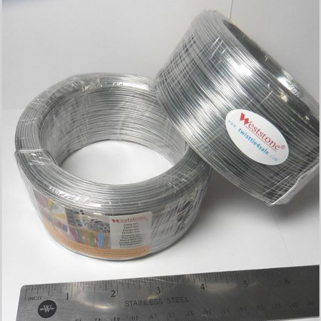 Clear Round - 300ft wire gauge #25 ROUND(Dia 1.5mm) plastic twist ties rolls