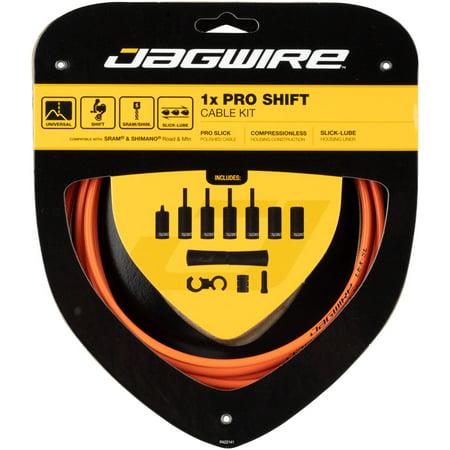 Jagwire 1x Pro Shift Kit Road/Mountain Orange Pro 5.0 Shifter