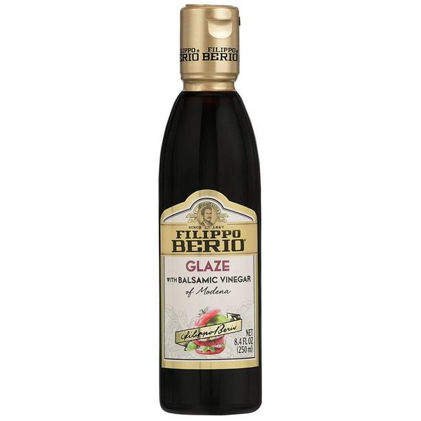 Filippo Berio Glaze Vinegar Balsamic 8 4 Ounce Walmart Com Walmart Com